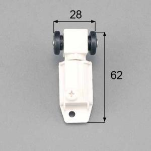 トステム LIXIL 浴室中折ドア吊車セット 上部吊部品 右用 DCZZ328 メール便対応|myhome-mainte