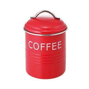 バーネット キャニスター  赤  COFFEE   4521540244182 myhome-mainte