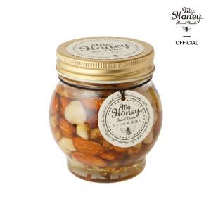 敬老の日 プレゼント ギフト ナッツの蜂蜜漬け 200g (Lサイズ) のし対応可|myhoney