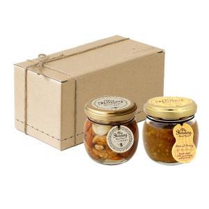 プレゼント ギフト ナッツの蜂蜜漬け 80g + ピーナッツハニー 90g のし対応可|myhoney