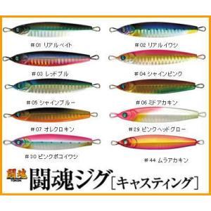 ダミキジャパン DAMIKI JAPAN 闘魂 ジグ 30g キャスティング 30g 闘魂ジグ