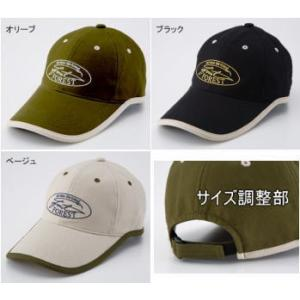 フォレスト ロゴキャップ 帽子 フリーサイズ  宅配便限定商品|mykiss