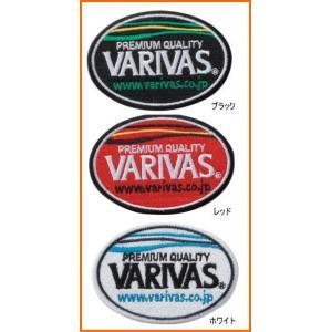 バリバス VARIVAS エンブレム 楕円 VAAC-14 ワッペン|mykiss
