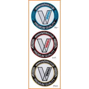 バリバス VARIVAS エンブレム  丸形 VAAC-13 ワッペン|mykiss