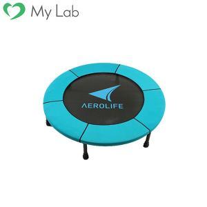 トランポリン ホームジャンピング DR-6600 トランポリン 家庭用 エアロライフ 静音 大型 エクササイズ 子供 大人|mylab