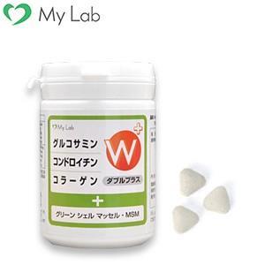 サプリメント MyLab グルコサミン コンドロイチン コラーゲン Wプラス|mylab