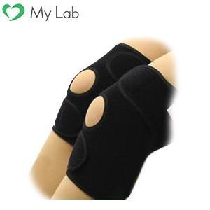 サポーター 膝 かるがる膝ベルト ブラック M|mylab