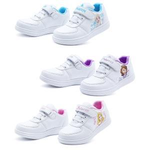 6a77cfbd2061d Disney(ディズニー) プリンセス エルサ ソフィア オーロラ姫 キッズシューズ スニーカー 15.0 16.0 17.0cm ホワイト 子供靴  運動靴