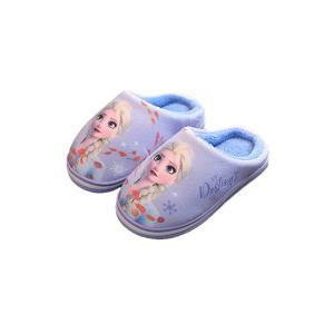 Disney(ディズニー)アナと雪の女王 エルサ スリッパ 子供 キッズ ルームシューズ 冬スリッパ...