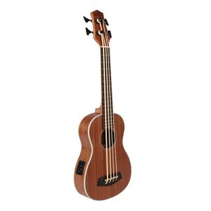 ウクレレベース 30インチ 本体 ハワイ ベース 4弦 サペリ 特殊