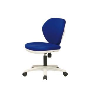 オフィスチェア 背スウィング ブルー|myoffice