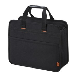 【らくらくPCキャリーM】ちょっとした移動に、保管に便利なBOX型バッグ。13.3型ワイドまでのノートパソコン対応。 myoffice