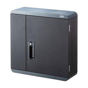 ●5台のノートパソコン、iPad、タブレットを同時に保管、充電することができる、壁面設置タイプの保管...