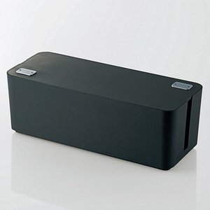 ケーブルボックス[ブラック](幅400mm)|myoffice
