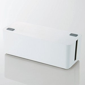 ケーブルボックス[ホワイト](幅400mm)|myoffice