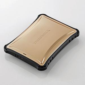 ZEROSHOCKハードディスク USB3.0 1TB ゴールド|myoffice