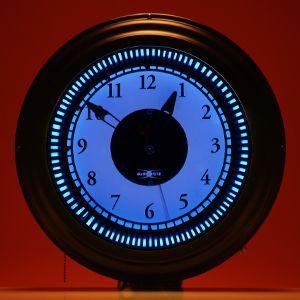 ネオンクロック/BLUE GM-10005 myoffice