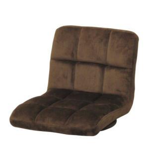 回転座イス 座面が回転する快適座椅子(アッシュグレーブラウン) myoffice