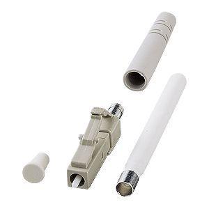 LCコネクタ(2mm径対応) 光ファイバケーブル自作用LCコネクタ。2mm径対応・4個入り。 myoffice