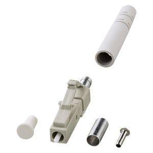 LCコネクタ(3mm径対応) 光ファイバケーブル自作用LCコネクタ。3mm径対応・4個入り。 myoffice
