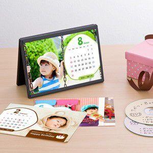 インクジェット手作りカレンダーキット(DVDトールケース付き)DVDも収納可能なカレンダーキット。|myoffice