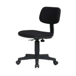 シンプルオフィスチェア ブラック|myoffice