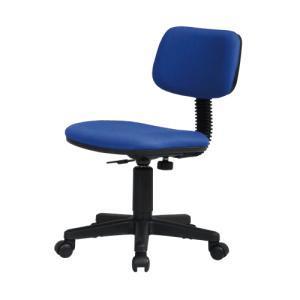 シンプルオフィスチェア ブルー|myoffice
