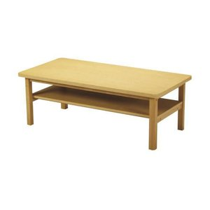 【KVTシリーズ】木製センターテーブル(ナチュラルブラウン)|myoffice