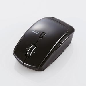 【Bluetooth 4.0 レーザーマウス】Bluetooth4.0レーザーマウス(低消費電力5ボタン DPI切替ボタン ブラック) myoffice