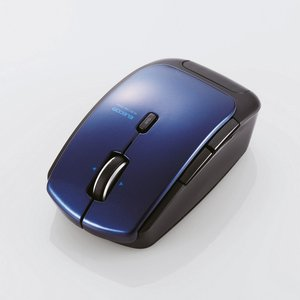 【Bluetooth 4.0 レーザーマウス】Bluetooth4.0レーザーマウス(低消費電力5ボタン DPI切替ボタン ブルー) myoffice