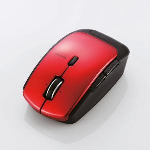 【Bluetooth 4.0 レーザーマウス】Bluetooth4.0レーザーマウス(低消費電力5ボタン DPI切替ボタン レッド) myoffice