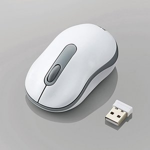 無線3ボタンマウス 光学式 Sサイズ ホワイト myoffice