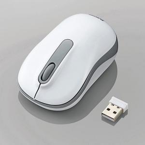 無線3ボタンマウス 光学式 Mサイズ ホワイト myoffice