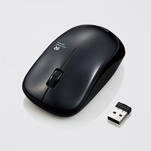 無線IRマウス ENELOシリーズ 3ボタン 省電力 ブラック myoffice