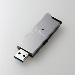 高速USB3.0メモリ スライドタイプ 32GB 最大190MB/s ブラック|myoffice