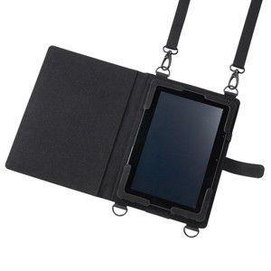 ショルダーベルト付き10.1型タブレットPCケース ショルダーベルト・ハンドベルト・ペンフォルダー付き10.1型タブレットPCケース。|myoffice