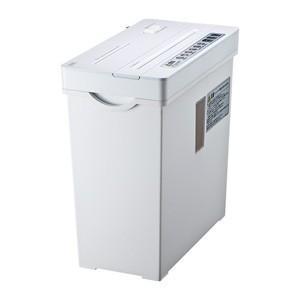 ペーパー&CDシュレッダー 容量:約11リットル ホワイト myoffice
