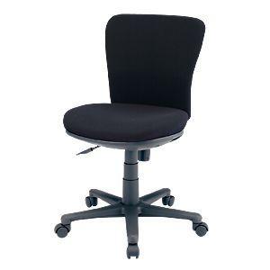 オフィスチェア(ブラック) 背もたれと座面にモールドウレタンフォーム(3次元立体フォルム)を使用した、包まれるようなフィット感のオフィスチェア。 myoffice