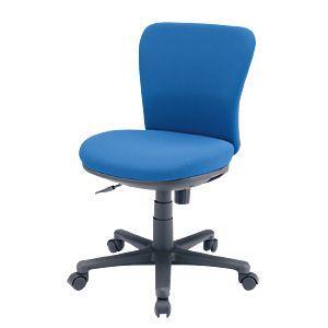 オフィスチェア(ブルー) 背もたれと座面にモールドウレタンフォーム(3次元立体フォルム)を使用した、包まれるようなフィット感のオフィスチェア。 myoffice