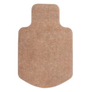 床の傷防止にOAチェア用マット(ブラウン)|myoffice