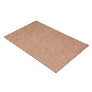 【OAチェア用マット】床に傷がつくのを防ぐ室内用大型OAチェアマット、ブラウン|myoffice