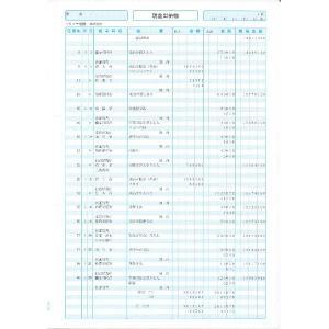 ソリマチ帳票サプライ 出納帳SR1301|myoffice