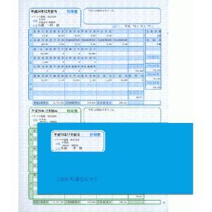 ソリマチ帳票サプライ 給与・賞与明細(明細ヨコ型)・封筒割引セットSR282|myoffice