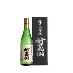 純米大吟醸 妙高山 720ml|myoko-shuzo