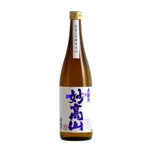 本醸造 妙高山 720ml|myoko-shuzo