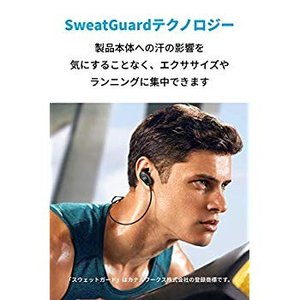 Anker Soundcore Sport Air(ワイヤレスイヤホン カナル型 スポーツ用)Swe...