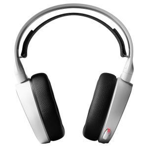 国内正規品密閉型 ゲーミングヘッドセット SteelSeries Arctis 5 White (2...