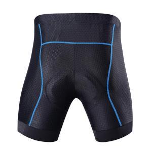 Souke Sports サイクル インナーパンツ メンズ 4Dパッド 痛み軽減 軽量速乾 レーサー...