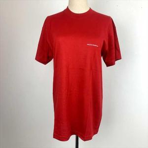 [Dolce & Gabbana] 半袖Tシャツ 綿100% レッド メンズ Mサイズ クリックポス...