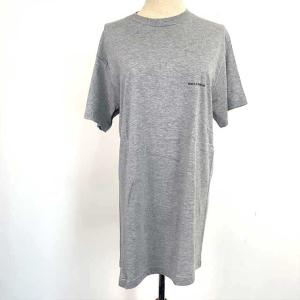 [Dolce & Gabbana] 半袖Tシャツ 綿100% ライトグレー メンズ Mサイズ クリッ...